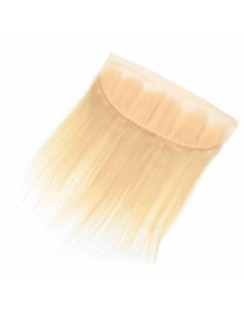 Blonde straight frontal